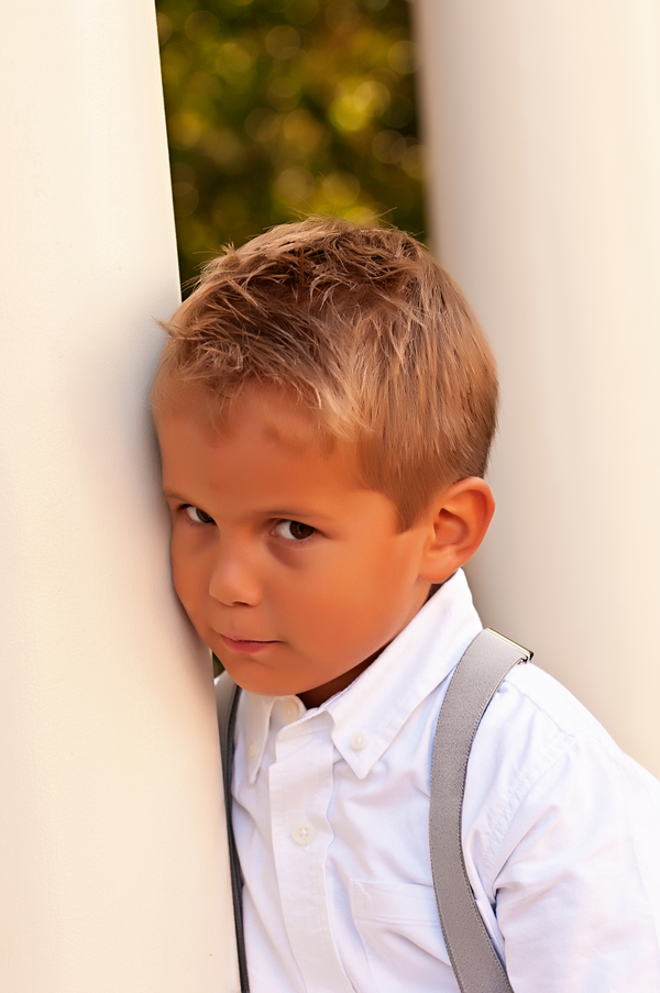Cute Ring Bearer | photo by wwww.EverAfterVisuals.com as seen on www.brendasweddingblog.com
