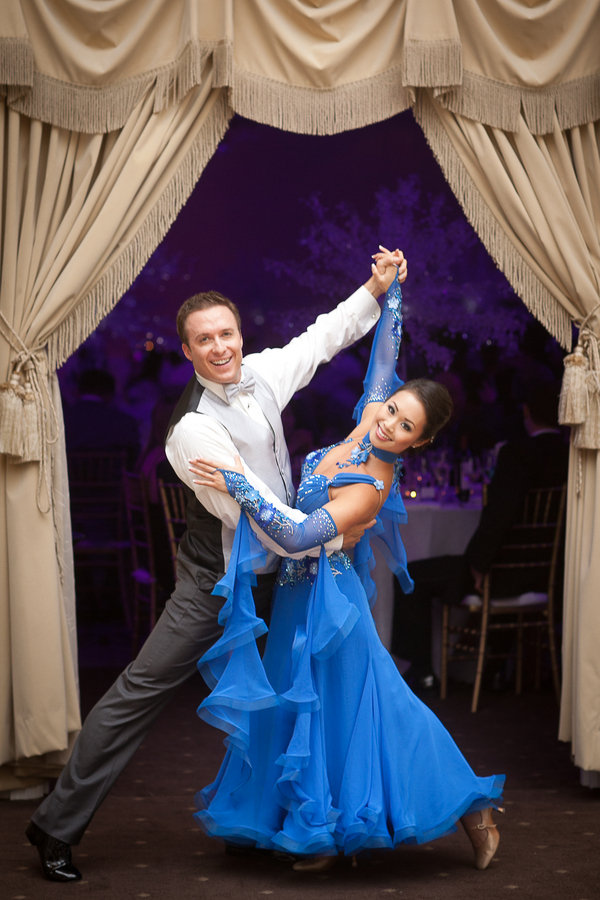 Bride and Groom Waltz for their First Dance | photographer - Portrait Design by Shanti