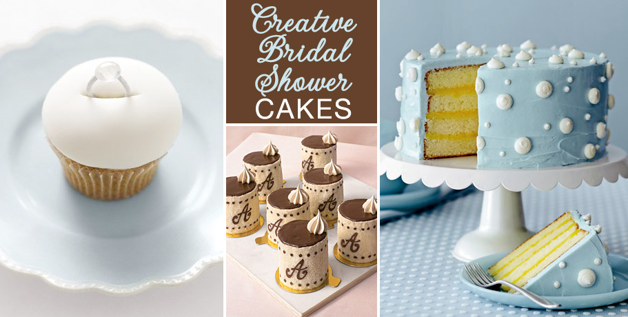 Creative Bridal Shower Cakes