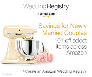 Amazon Weddding Registry