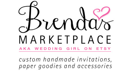 Brenda's Marketplace : custom handmade invitations, paper goodies and accessories