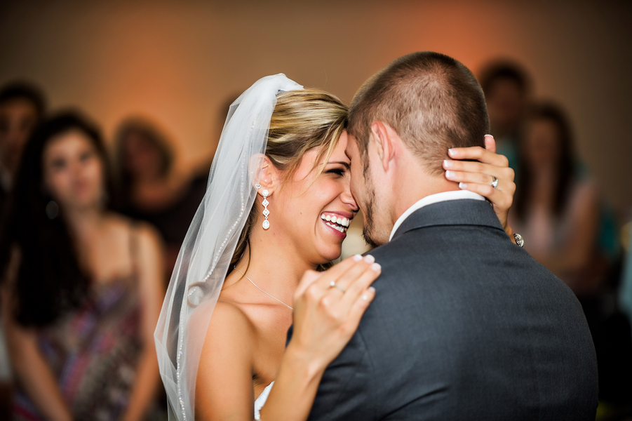 Happy Couple | photo by Ross Costanza Photography | as seen on www.BrendasWeddingBlog.com