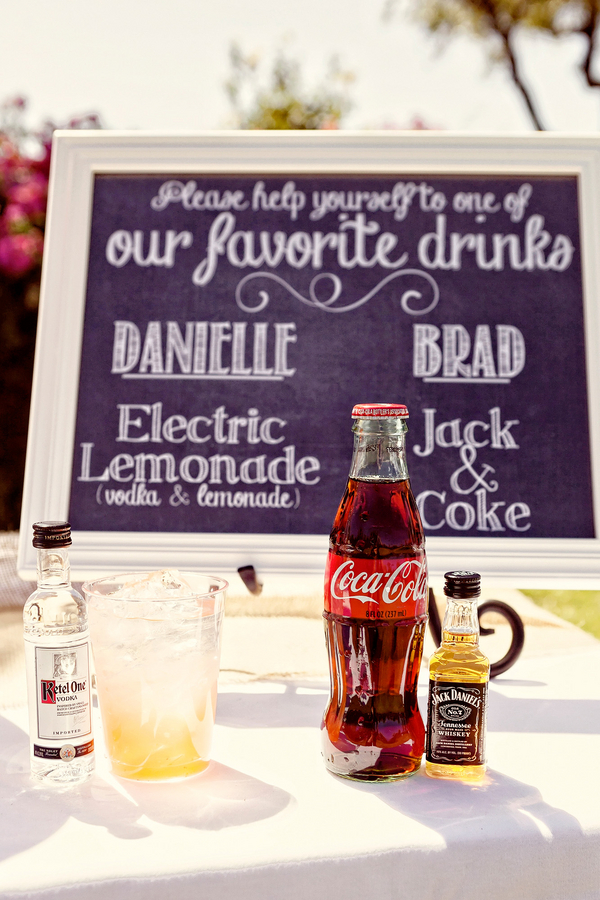 Signature Wedding Drinks | Photo by William Innes Photography | via www.brendasweddingblog.com