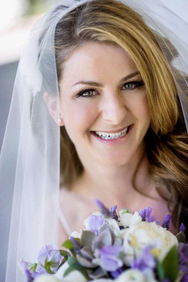 Happy Bride at her Rustic California Wedding   Photo by William Innes Photography   via www.brendasweddingblog.com