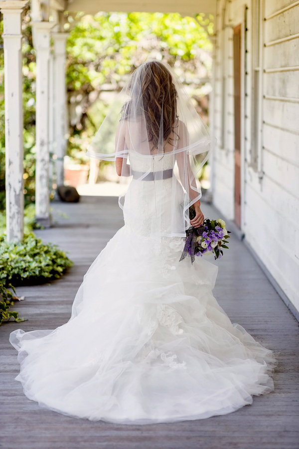 Super Pretty Back of the Wedding Dress | Photo by William Innes Photography | via www.brendasweddingblog.com
