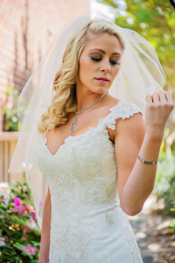 Gorgeous Bridal Portrait | photo by Ross Costanza Photography | as seen on www.brendasweddingblog.com