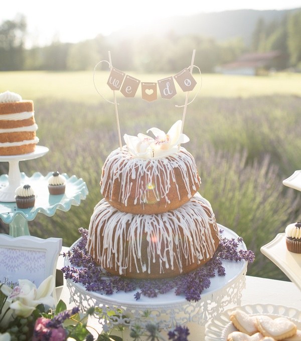 Whimsical Lavender And Lace Styled Wedding Shoot With