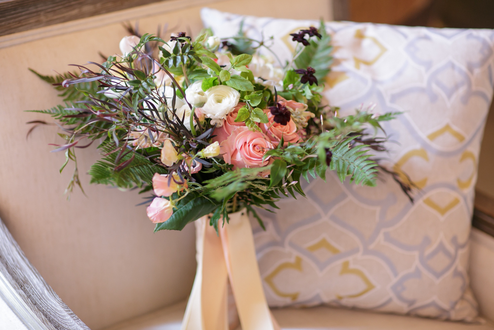 Farm to Table Chic Wedding Bouquet : Outdoor Theme for Fall Weddings | by Nancy Liu Chin Designs