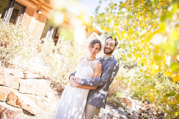 Rugged Mountain Wedding in Colorado / photo by Grace Combs Photography