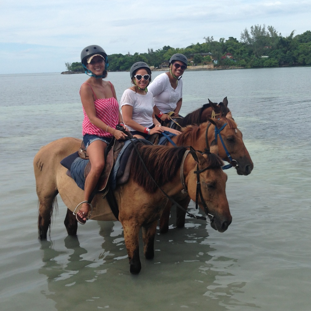 Horseback Riding in Jamaica at Rhodes Hall Plantation | as seen on www.brendasweddingblog.com