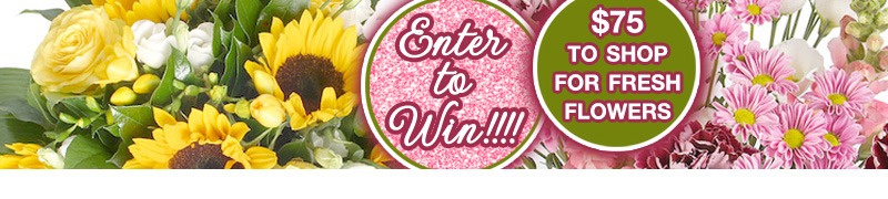 It's an exclusive giveaway on www.BrendasWeddingBlog.com : Enter to Win $75 in Fresh Floral Arrangements + Bouquets from Serenata Flowers. These gorgeous florals are sure to put you and/or your guests in the mood to party.