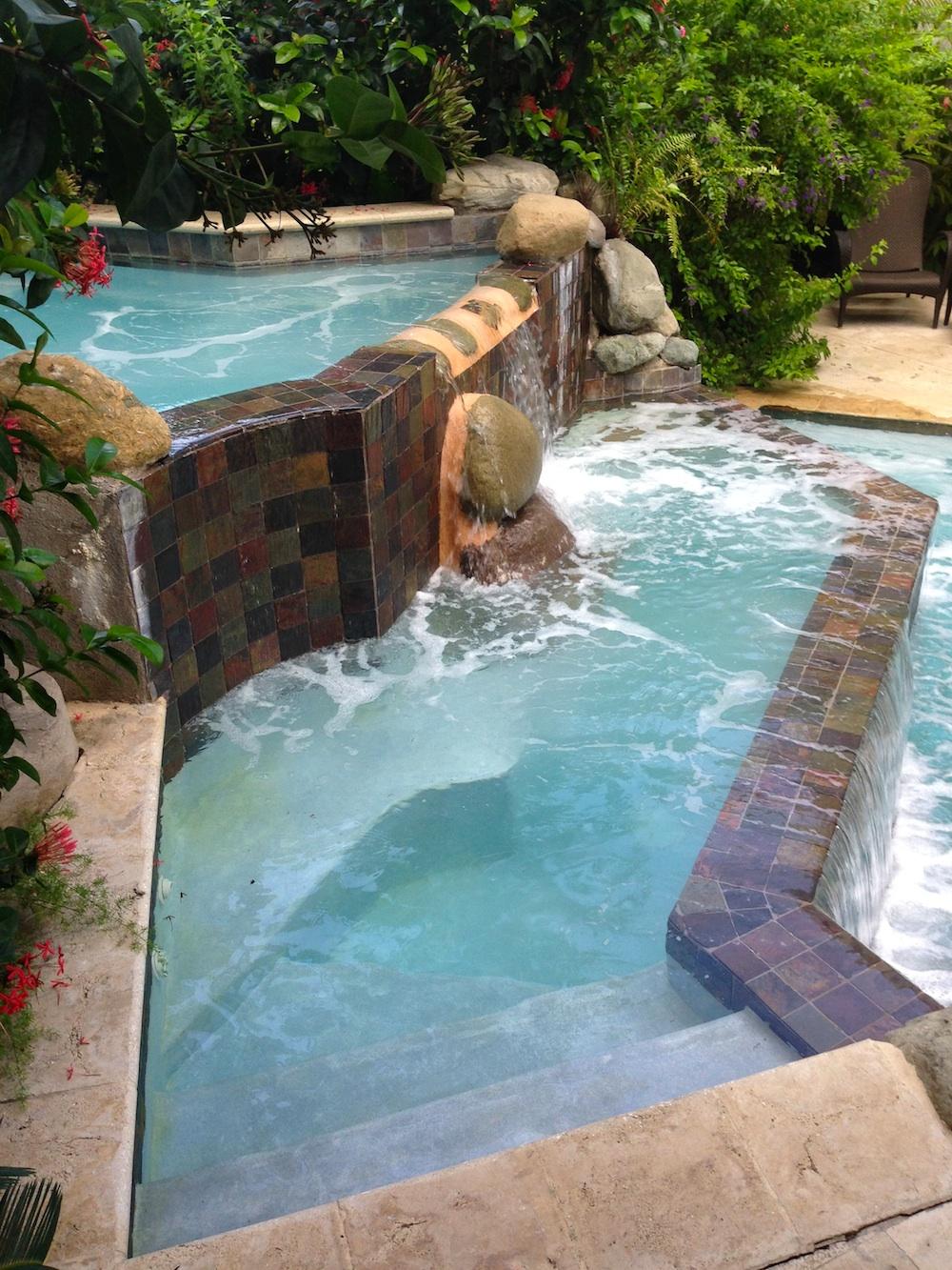 Multi-Level Pool at Half Moon Jamaica / see more at www.BrendasWeddingBlog.com