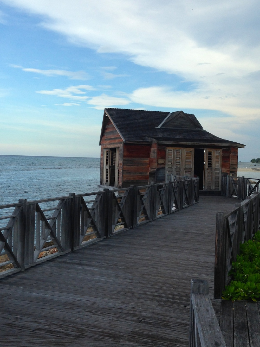 These Over-Water Cabins at Half Moon Jamaica are amazing and they can be requested for spa services and even a candle-lit dinner / see more at www.BrendasWeddingBlog.com