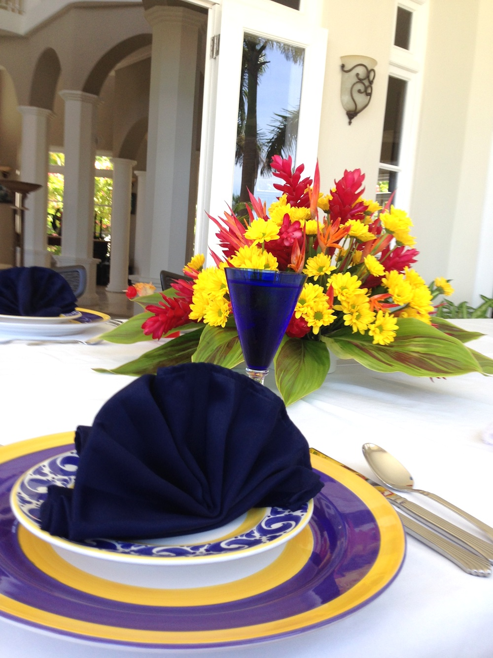 The Villas by Linda Smith in Jamaica / includes a personal chef on a secluded property / see more at www.BrendasWeddingBlog.com