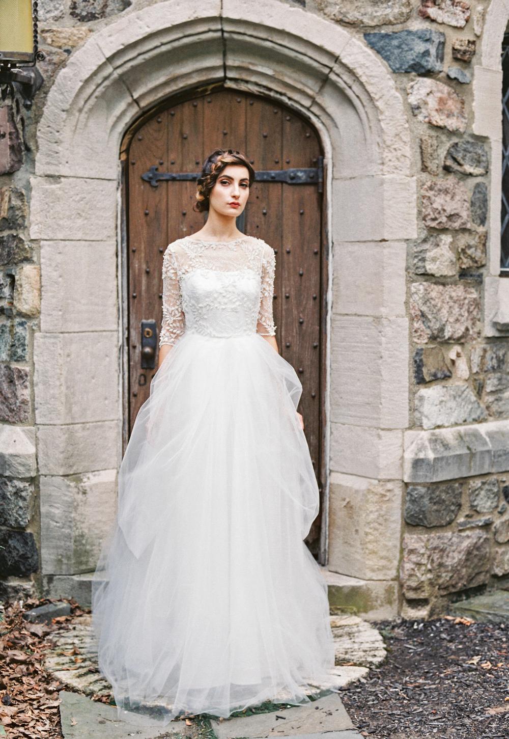Sareh Nouri Wedding Gown {fall 2015 collection} / as seen on www.BrendasWeddingBlog.com