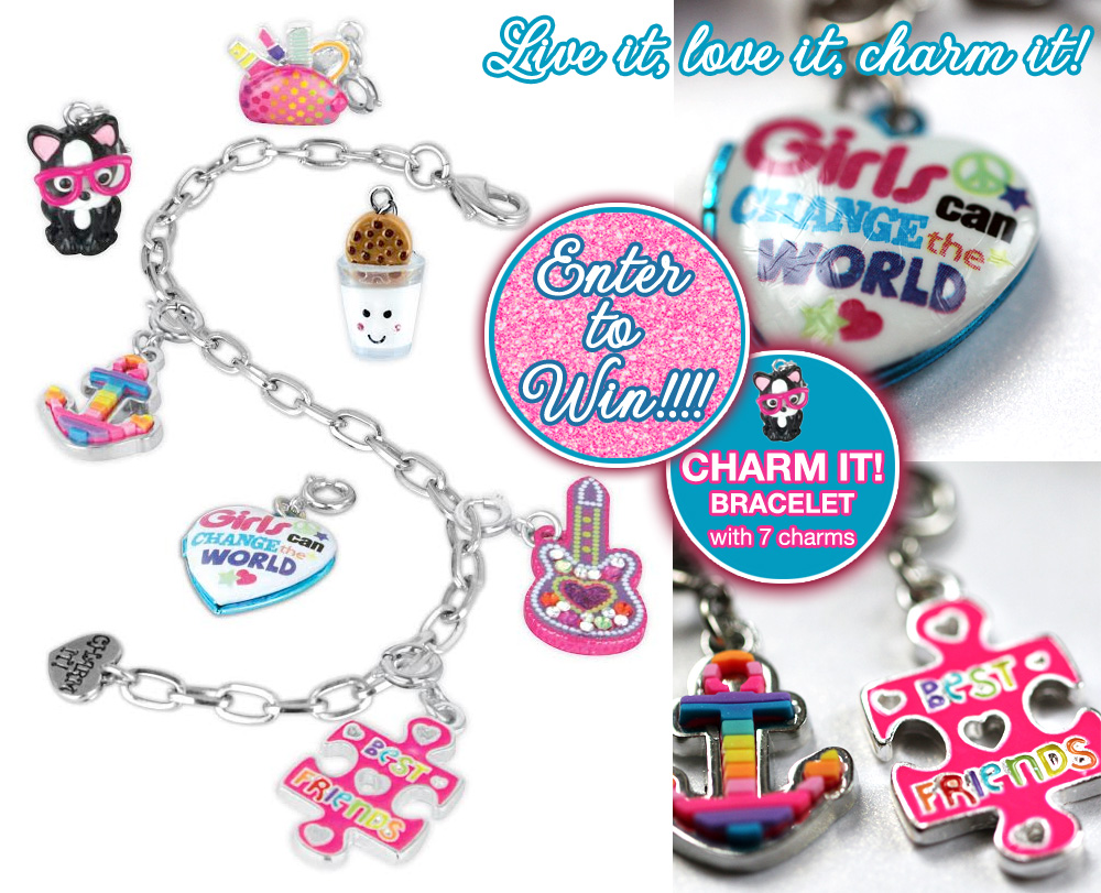 Win a CHARM IT! Charm Bracelet with 7 Adorable Charms / from www.BrendasWeddingBlog.com