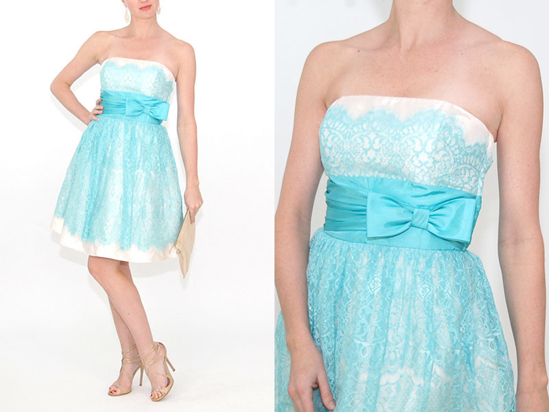 Enjoy a peek at this Betsy Johnson dress that you could be wearing to your next big event for only $37 / see the details on www.brendasweddingblog.com
