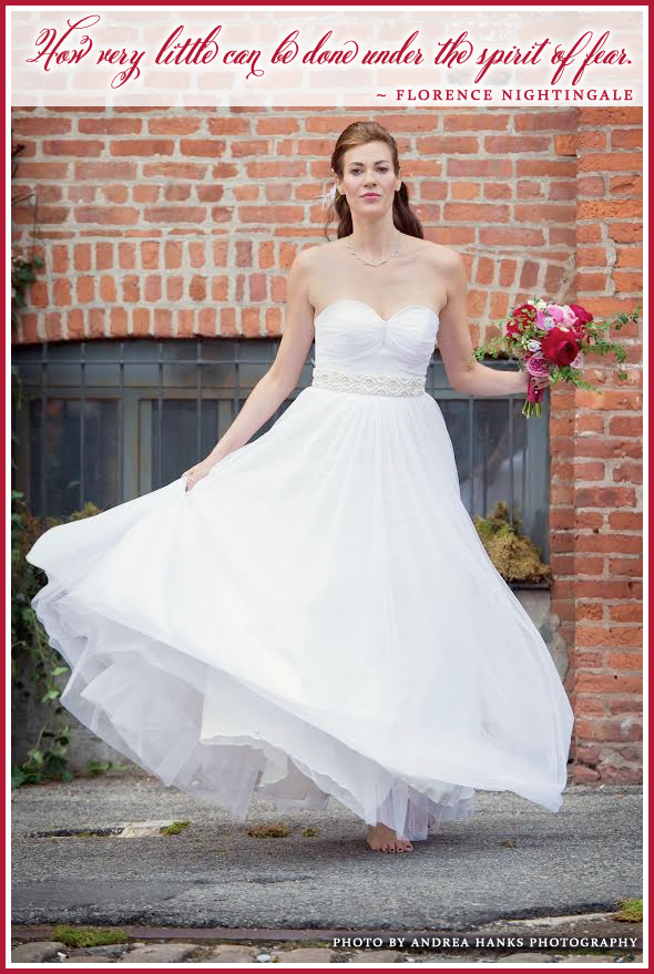 The Brand New Florence Wedding Gown from Celia Grace Wedding Dresses / as seen on www.BrendasWeddingBlog.com