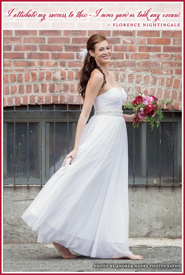 The all new Wedding Gown from Celia Grace Wedding Dresses is name Florence {after inspirational woman Florence Nightingale} / as seen on www.BrendasWeddingBlog.com