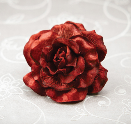 Large Ruby Roses for Embellishments