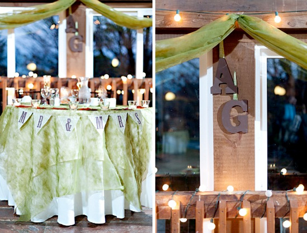 Rustic Wedding Decor : rustic remains a hot wedding trend for 2015 / photo by Tony Spinelli Photography / as seen on www.BrendasWeddingBlog.com