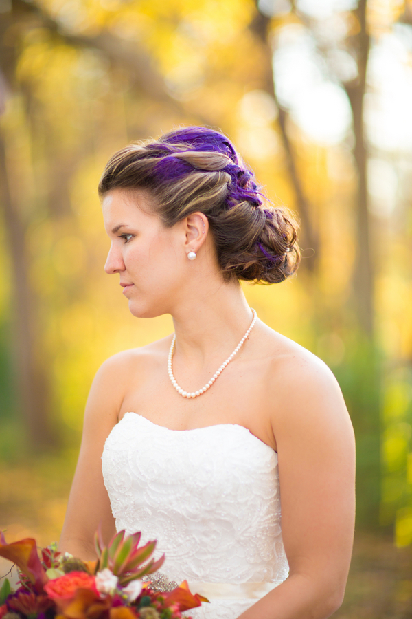 Braided Bridal Hairstyle / photo by Morgan Lindsay Photography / as seen on www.BrendasWeddingBlog.com