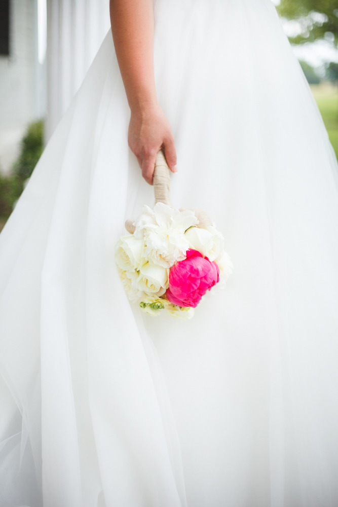 Hot Pink and White Peony Inspired Bridal Shoot / florals by Eight Tree Street / photo by Allison Hopperstad Photography / as seen on www.BrendasWeddingBlog.com