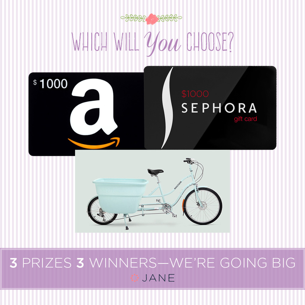Enter to Win in the Mother's Day BIG Giveaway with code BRENDA2395, over $3,000 in prizes / as seen on www.BrendasWeddingBlog.com