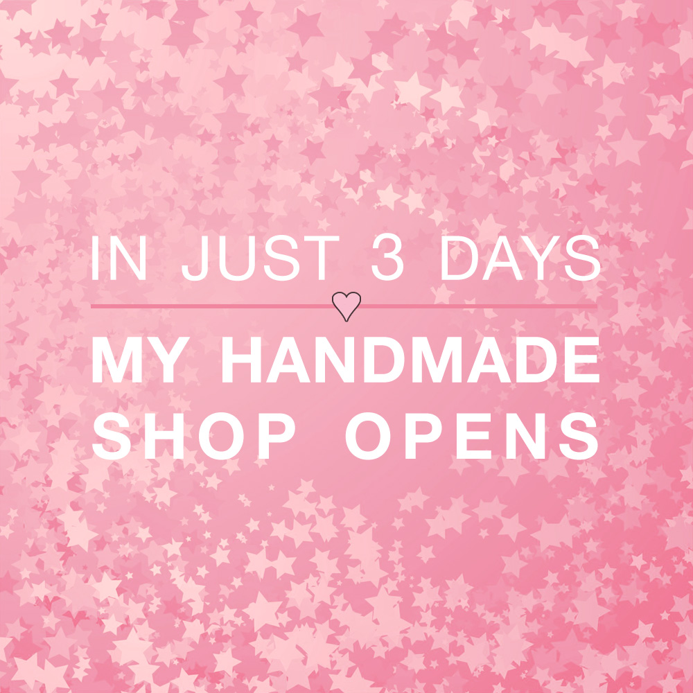 My Handmade Party Shop Opens in 3 Days on www.BrendasWeddingBlog.com