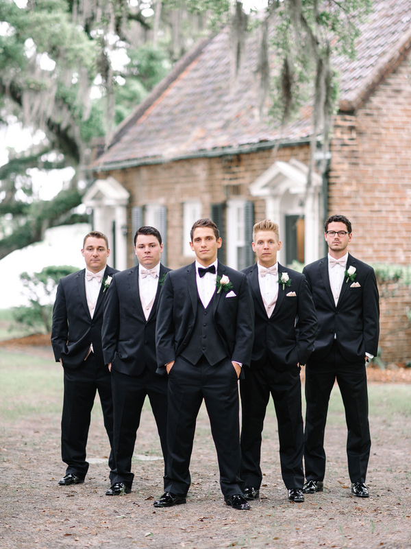 The Groom and his Guys in Men's Warehouse : photo by Pasha Belman Photography