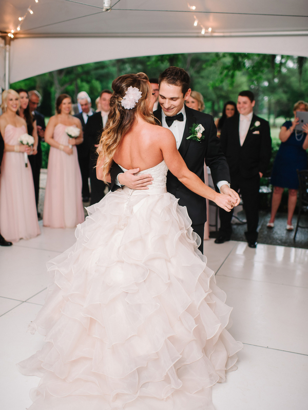 A Southern Wedding First Dance : photo by Pasha Belman Photography