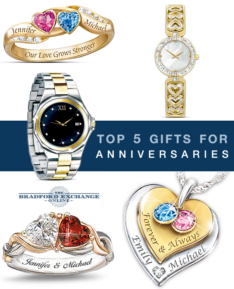 "Top 5 Trending Anniversary Gifts - find the perfect gift to say ""I Love You"" with"