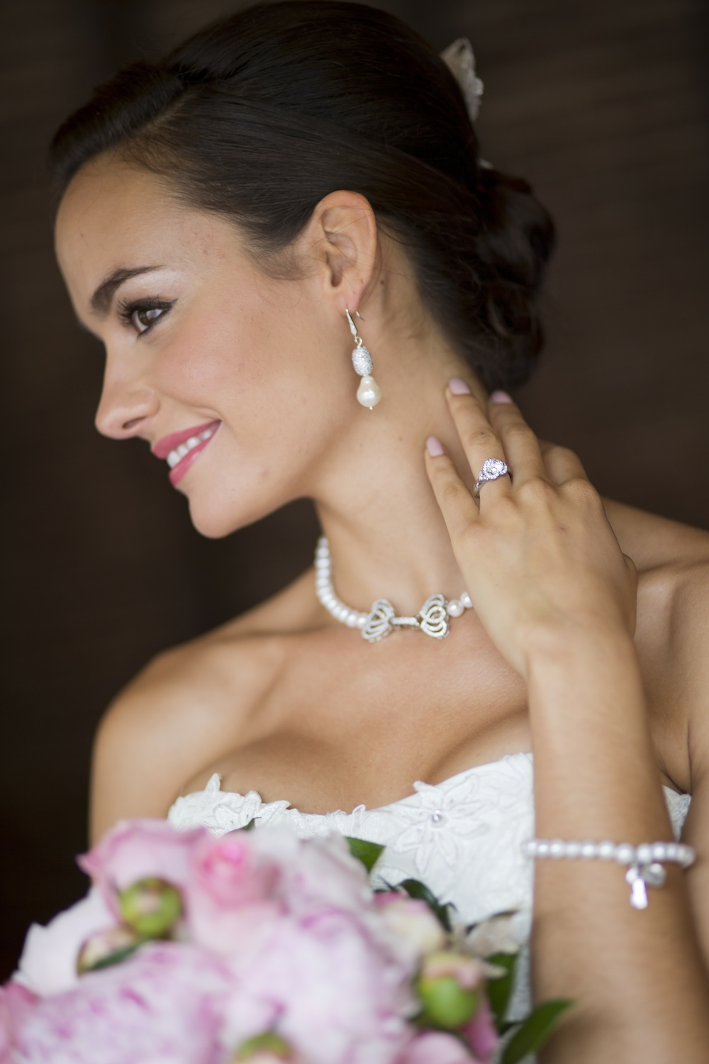 Beautiful Wedding Day Jewelry from Osorio Jewelry / photo by Krista Patton Photography