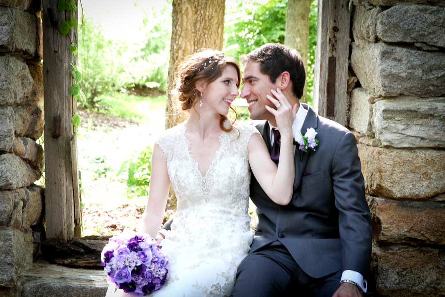 Intimate Outdoor Virginia Wedding / photo by Crystal Image Photography