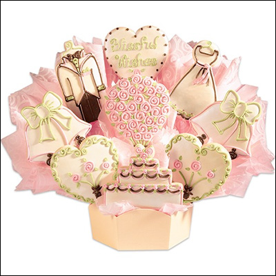 Cookies by Design - your place for customized cookie centerpieces for bridal showers and wedding tables