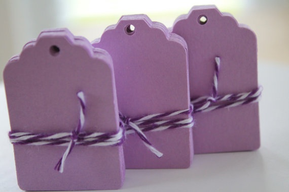 Lavender Gift Tags