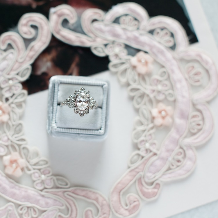 Gorgeous Jewel from Claire Pettibone's Vintage-Inspired Engagement Ring Collection