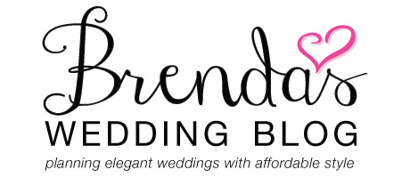 Brenda's Wedding Blog - affordable wedding ideas for planning elegant 