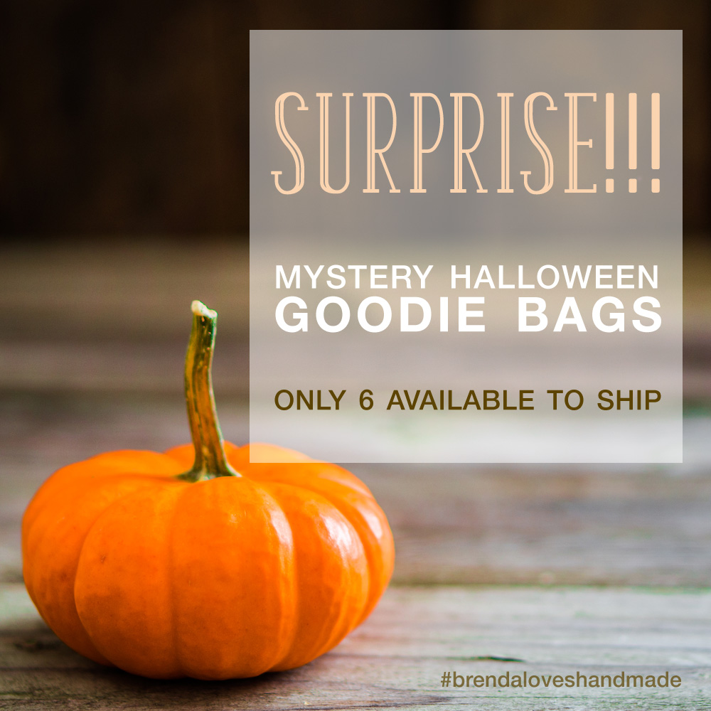 Take a Break from Wedding Planning - Handmade Mystery Halloween Goodie Bags are Here