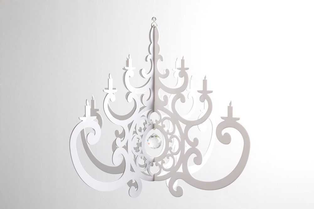 Fancy Acrylic Chandeliers from Chandelier by Nicole - chic decor for events, weddings and parties