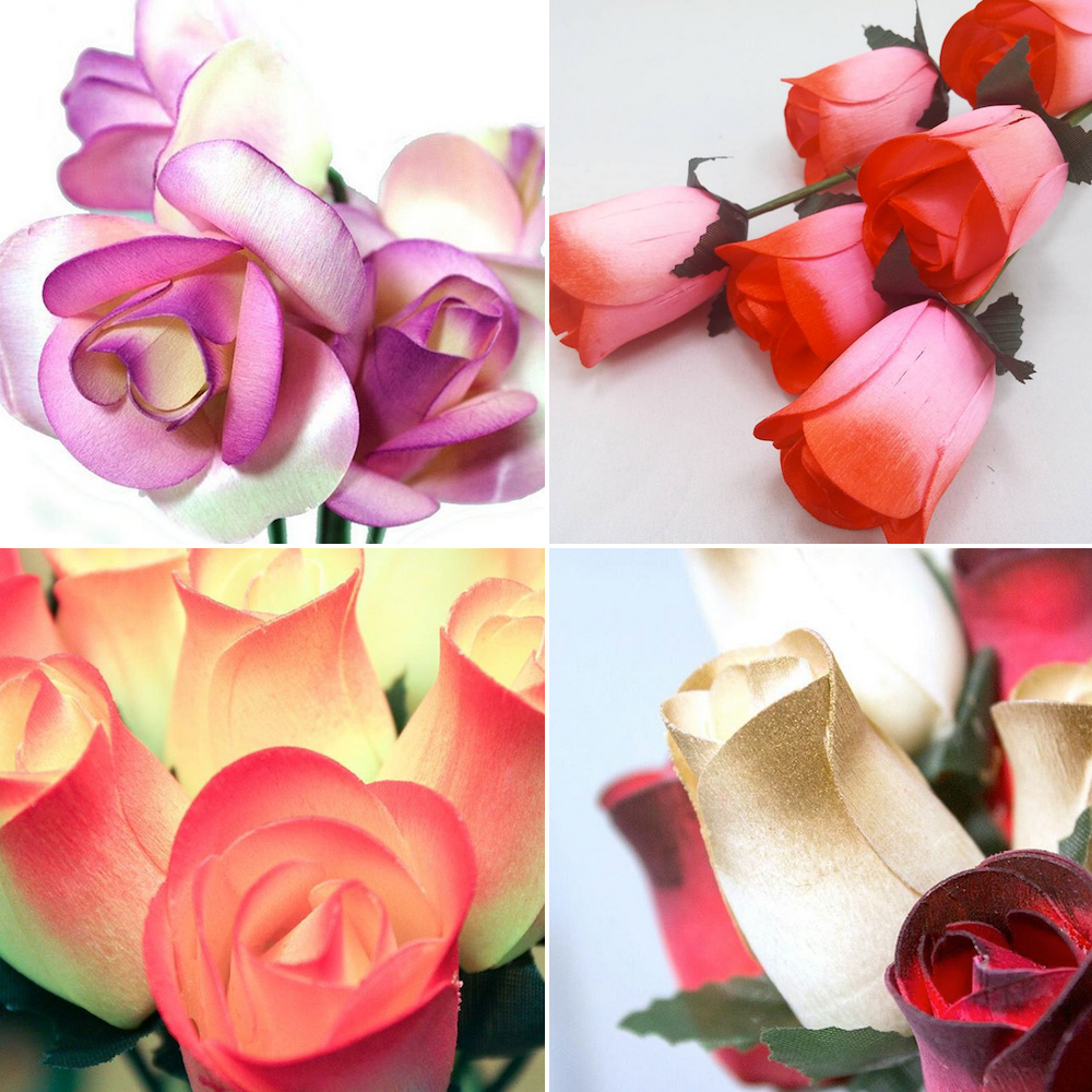 Carry a Piece of Art at your Wedding with Eternal Wooden Roses