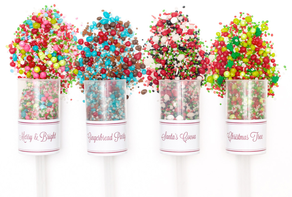 Celebrate Your Holiday Weddings and Parties with Holiday Candyfetti™ Poppers filled with Candy and Sprinkles
