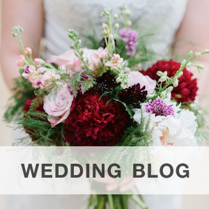Visit Brenda's Wedding Blog for Elegant Weddings with Unique Touches {bouquet by EightTreeStreet, photo by Natalie Franke Photography}