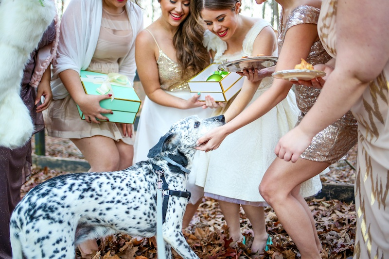 Holiday Cookie Exchange to Celebrate Your Bridesmaids / photo by Debbie Ringle Photography