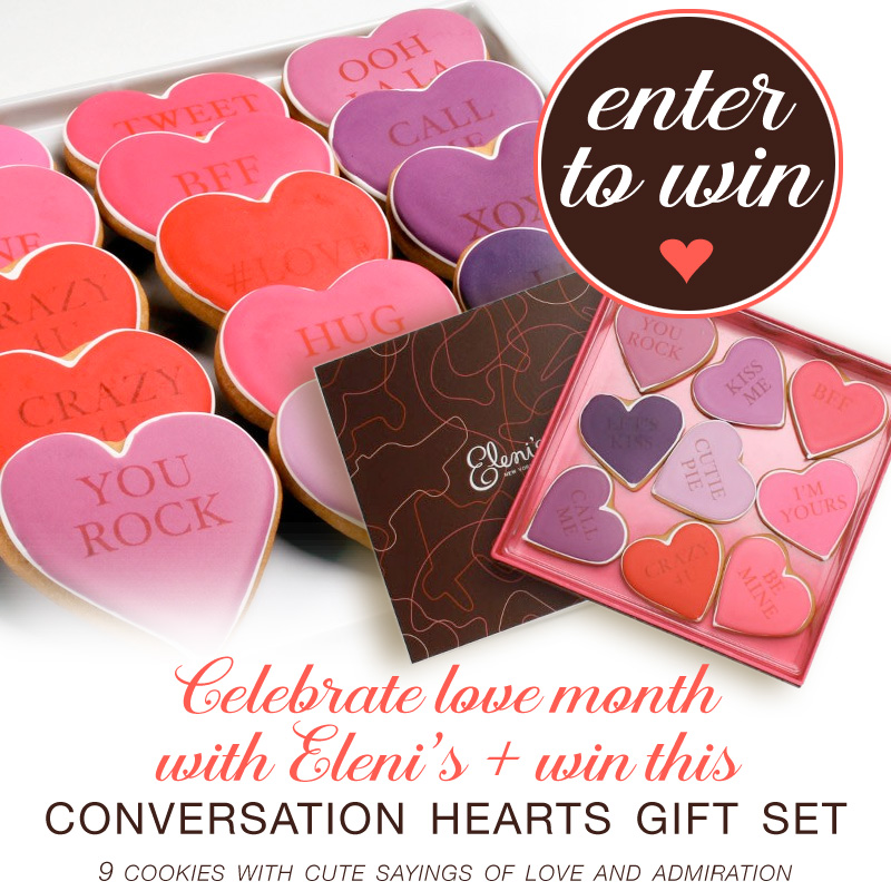 Celebrate Love Month and Win a Conversation Hearts Gift Set on www.BrendasWeddingBlog.com