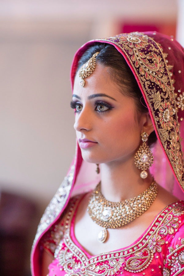 Stunning Bridal Portrait from a Sikh - South Asian Wedding / by Focus Photography in Toronto Canada