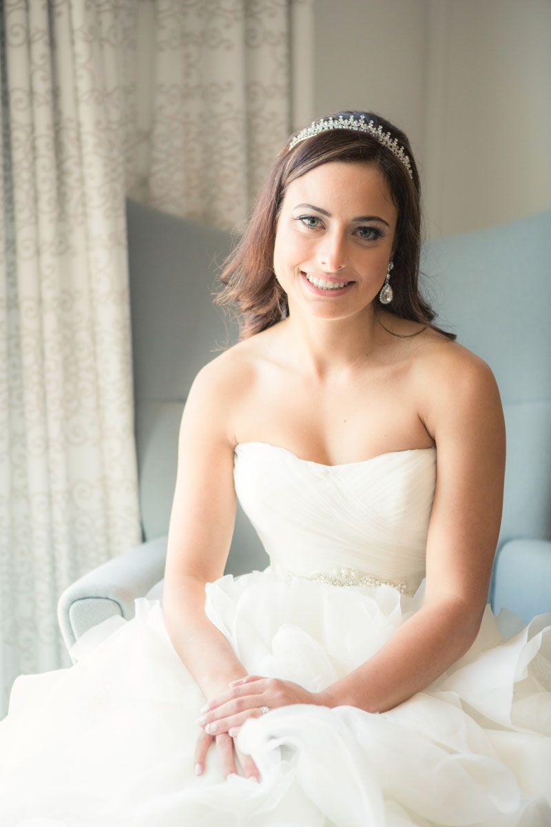Gorgeous Bridal Portrait from a Jewish Wedding / by Focus Photography in Toronto Canada