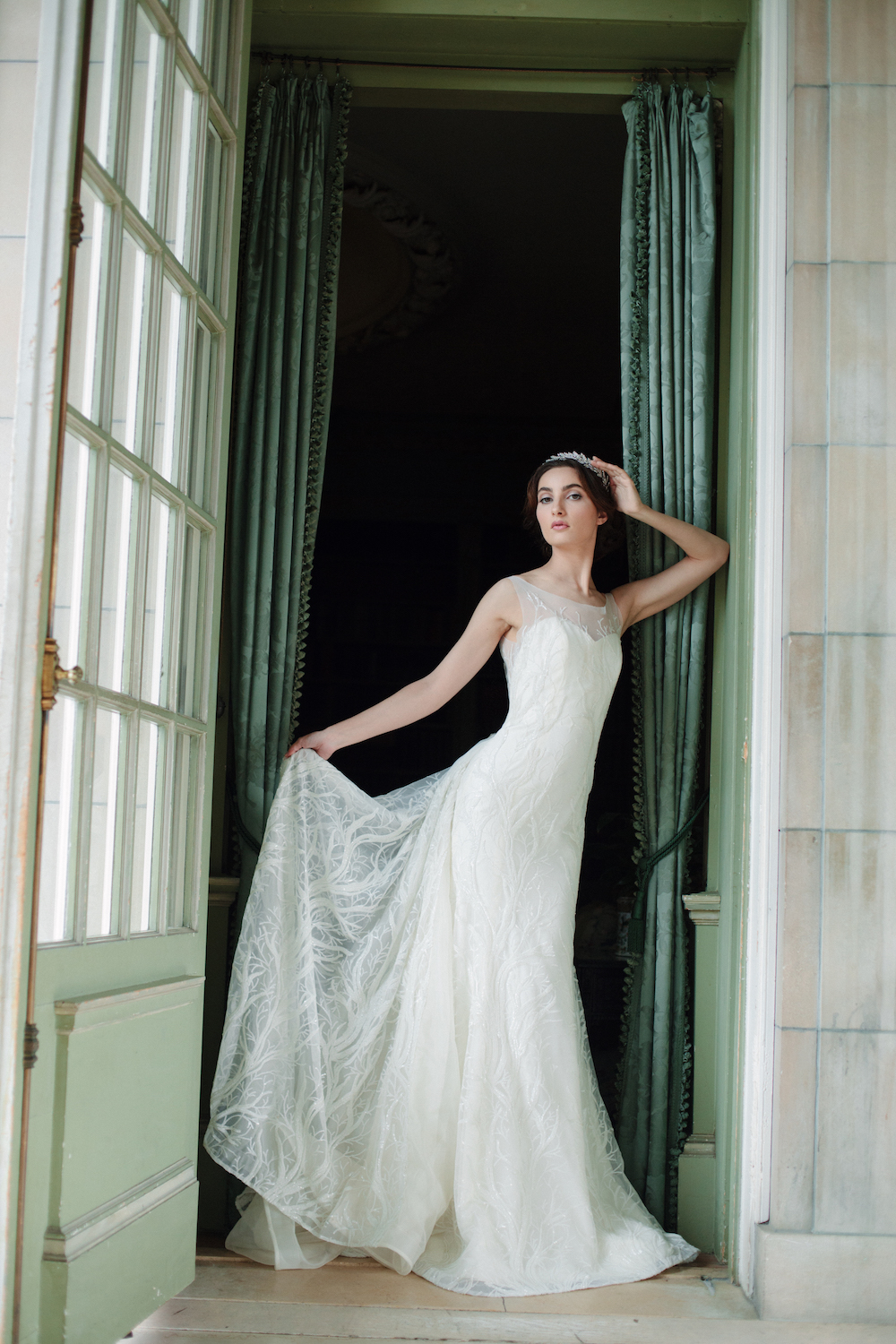 Sareh Nouri Wedding Gown Collection with French Lace and Italian Silk {Fall 2016} / photo by Millie B Photography