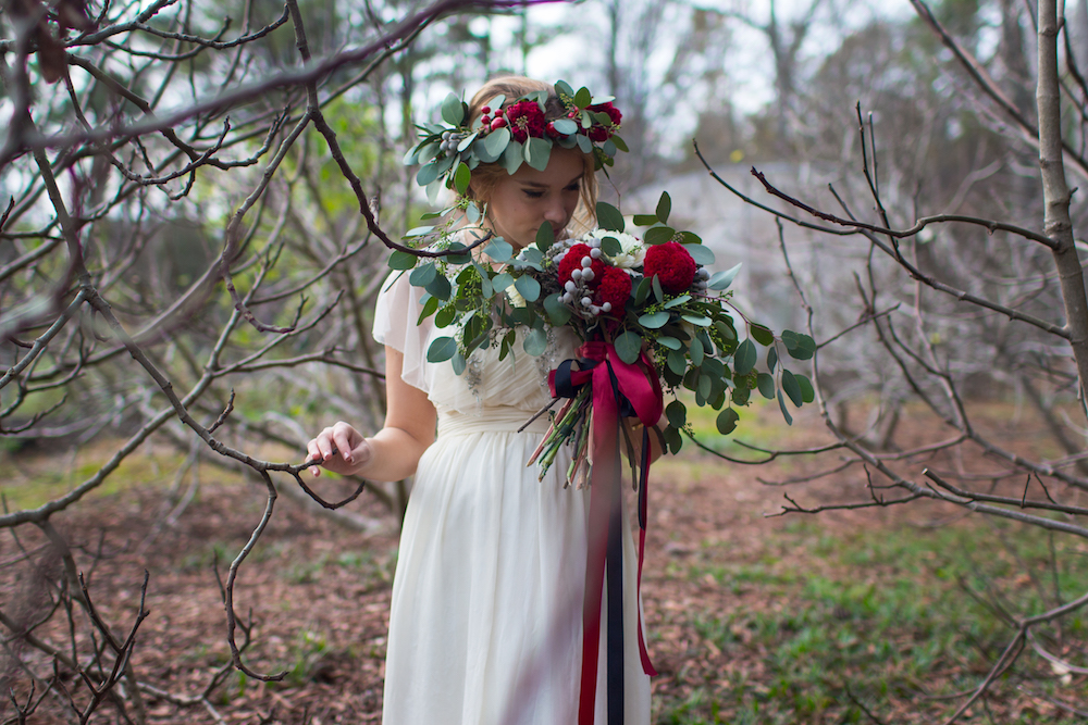 Romantic Floral Garden Inspired Bridal Inspiration Styled Shoot / by Spark Photography
