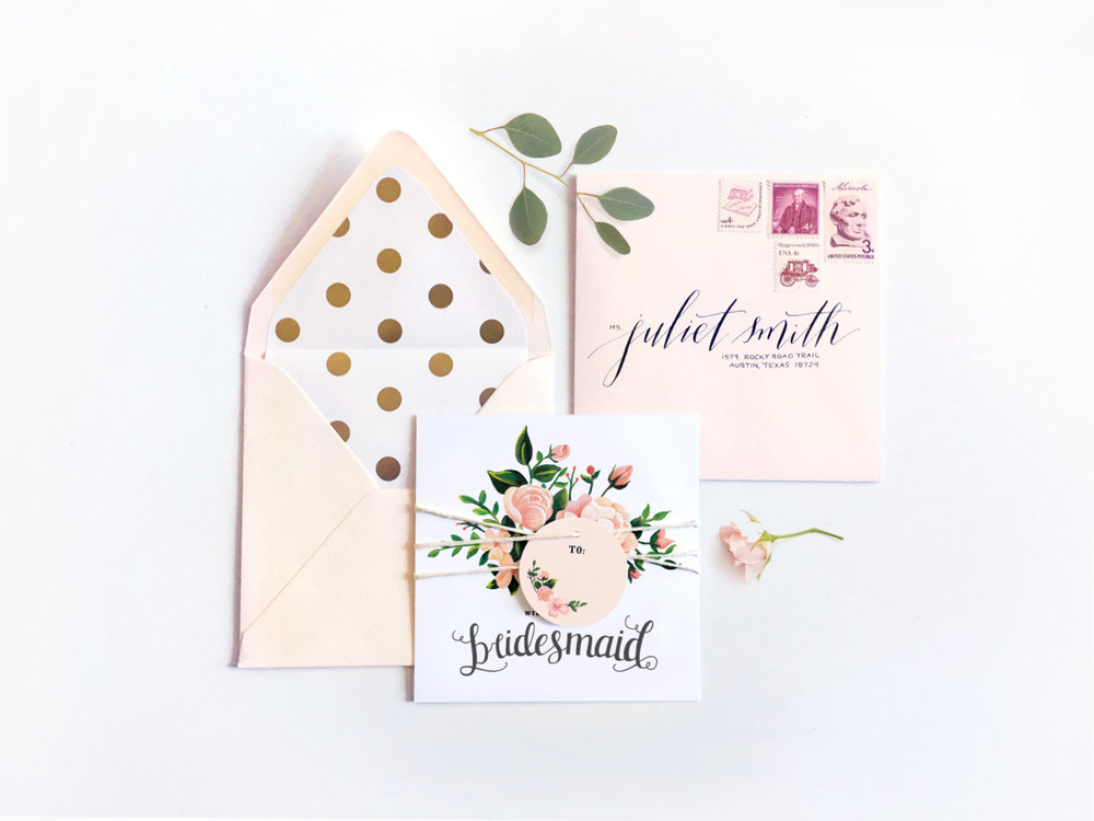 "SHOP HERE ~ <b><a rel=""nofollow"" href=""http://tidd.ly/29d1fbd1"" target=""blank"">Juliet Collection - Will You Be My Bridesmaid Card?</a></b>"